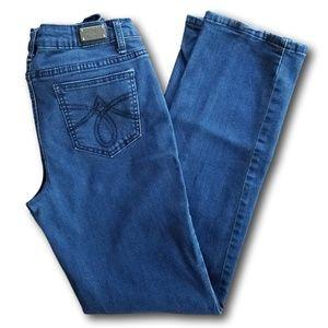 Earl Straight Leg Jeans SZ 8 Dark Stretch Denim